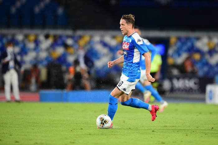 Składy na mecz Sassuolo - Napoli. Pracowita środa Piotra Zielińskiego