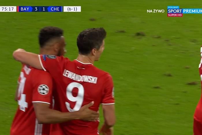 Kosmiczny mecz Roberta Lewandowskiego. Bayern przypieczętował awans do ćwierćfinału Ligi Mistrzów [WIDEO]