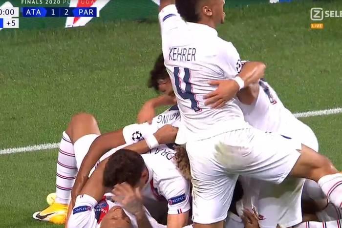 PSG zagra w półfinale Ligi Mistrzów! Francuzi w niesamowitych okolicznościach pokonali Atalantę [WIDEO]