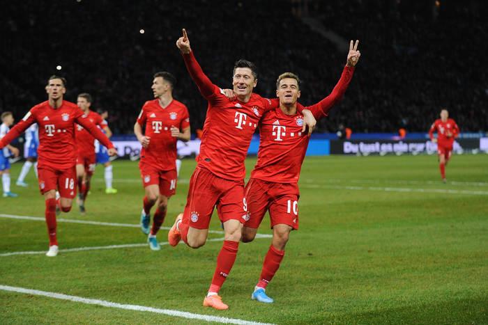 Bayern Monachium w finale Ligi Mistrzów! Serge Gnabry bohaterem, Robert Lewandowski z golem [WIDEO]