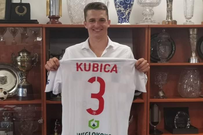Krzysztof Kubica zostaje w Górniku Zabrze. 20-latek podpisał nowy kontrakt