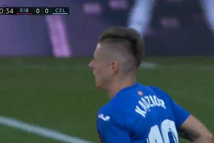 Debiut Damiana Kądziora w La Liga. Eibar podzieliło się punktami z Celtą Vigo