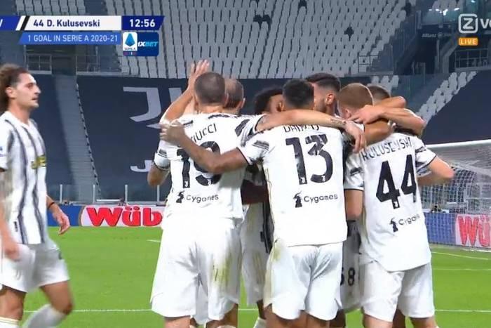 Pewna wygrana Juventusu, udany debiut Andrei Pirlo. Koszmarny kiks Bereszyńskiego [WIDEO]
