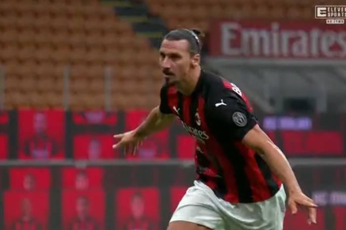 Łukasz Skorupski nie zatrzymał Zlatana Ibrahimovicia. Dwie bramki Szweda dały Milanowi zwycięstwo [WIDEO]