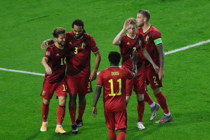 Belgia lepsza od Anglii. Dania nadal w grze o awans do Final Four Ligi Narodów [WIDEO]