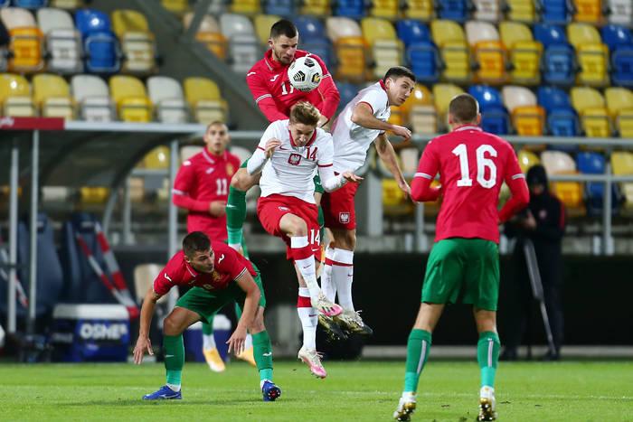 Reprezentacja Polski U-21 straciła punkty z Bułgarią. Wielkie męczarnie w ostatnim meczu Michniewicza [WIDEO]