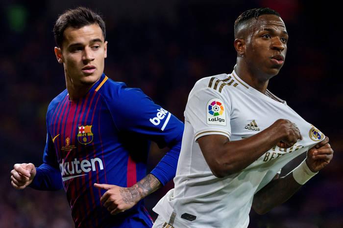 Renesans brazylijskich gwiazd. Odrodzeni Coutinho i Vinicius Jr. motorami napędowymi Barcelony i Realu