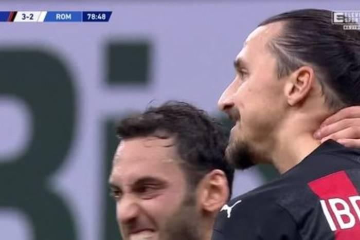 Szalony mecz w Mediolanie! Sześć goli i remis Milanu z Romą, dublet Zlatana Ibrahimovicia [WIDEO]