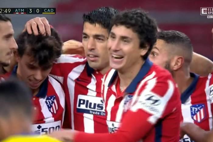 Atletico Madryt liderem La Liga! Kolejne trafienie Luisa Suareza, świetny mecz Joao Felixa [WIDEO]