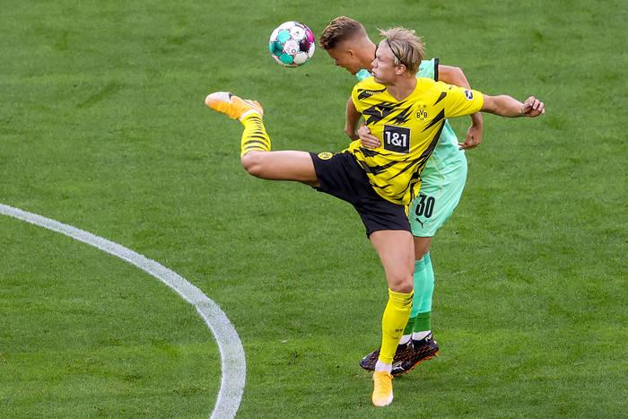 Sensacyjna porażka Borussii Dortmund. Koszmarna i kosztowna pomyłka Haalanda [WIDEO]