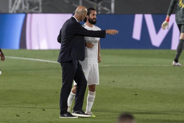 Składy na mecz Real Madryt - Real Sociedad. Isco z kolejną szansą od Zinedine'a Zidane'a