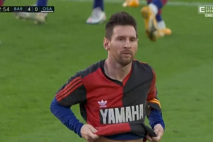 FC Barcelona rozbiła Osasunę. Piękny hołd Leo Messiego dla Diego Maradony, cudowny gol Griezmanna [WIDEO]