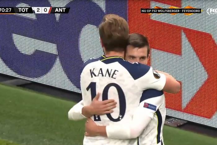 Tottenham nie zawiódł w Lidze Europy. Zwycięstwo w meczu o pierwsze miejsce [WIDEO]