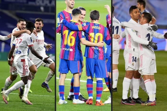 Real i Barcelona idą łeb w łeb, ale oglądają plecy Manchesteru United. Kto może się pochwalić najlepszą passą?