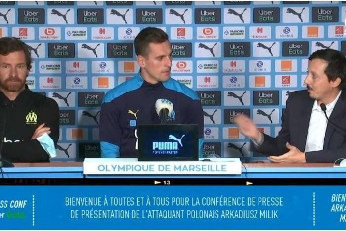 """Arkadiusz Milik oficjalnie zaprezentowany w Olympique Marsylia. """"To jedyne, czego mi brakuje"""""""
