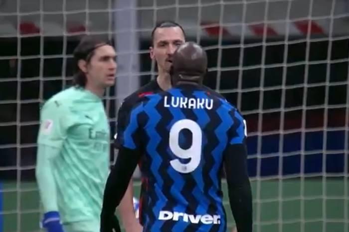 """Lukaku prowokował Ibrahimovicia po strzeleniu gola. """"Mówiłem ci to, ku***"""" [WIDEO]"""