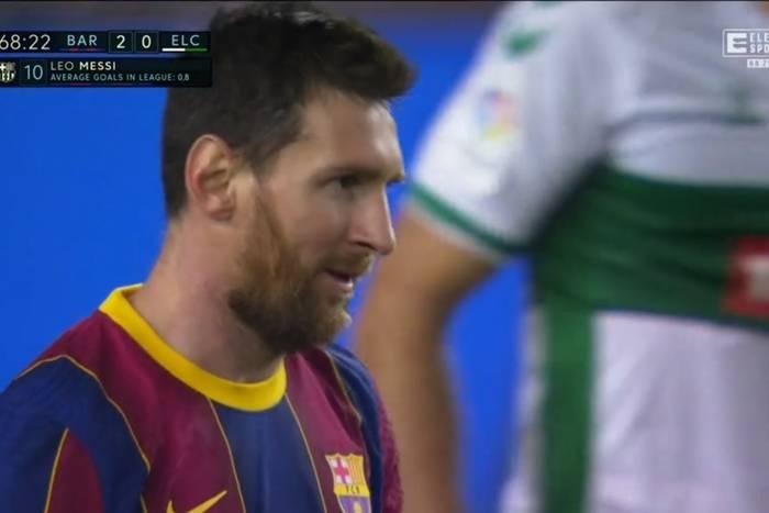 Popis Leo Messiego w spotkaniu z Elche. Dublet Argentyńczyka i pewne zwycięstwo FC Barcelony [WIDEO]