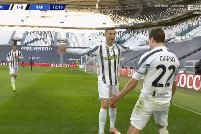 """Duże kontrowersje w hicie Serie A, Juventus lepszy od Napoli. """"Na Varze dzisiaj śpią?"""" [WIDEO]"""