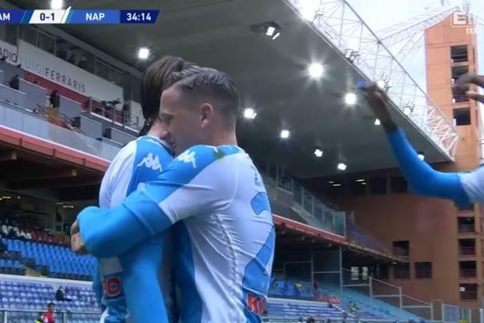 Piotr Zieliński z asystą w Serie A, ważna wygrana Napoli. Wcześniej Polak zmarnował znakomitą okazję [WIDEO]