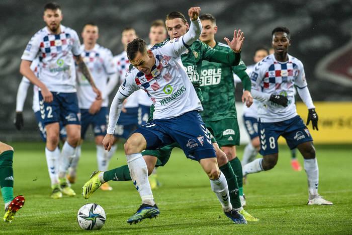 Górnik Zabrze na remis ze Śląskiem Wrocław. Piasecki zdobył gola 30 sekund po wejściu na boisko [WIDEO]