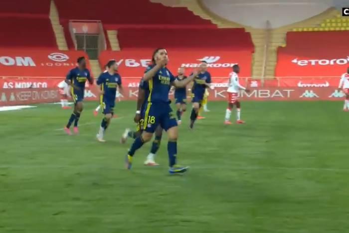 Szalony mecz w Księstwie! Monaco odpada z wyścigu o tytuł, Lyon wraca do gry o LM po golu 17-latka [WIDEO]