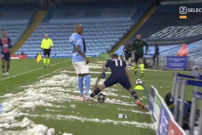 """Angel Di Maria wyleciał z boiska! """"Piłkarze PSG to się zachowują jak troglodyci z osiedla"""" [WIDEO]"""