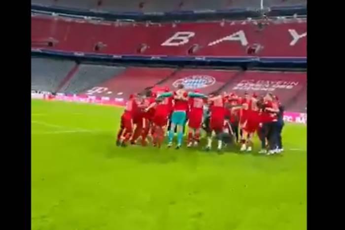 Tak zawodnicy Bayernu świętowali mistrzowski tytuł. Gratulacje od Juliana Nagelsmanna [WIDEO]