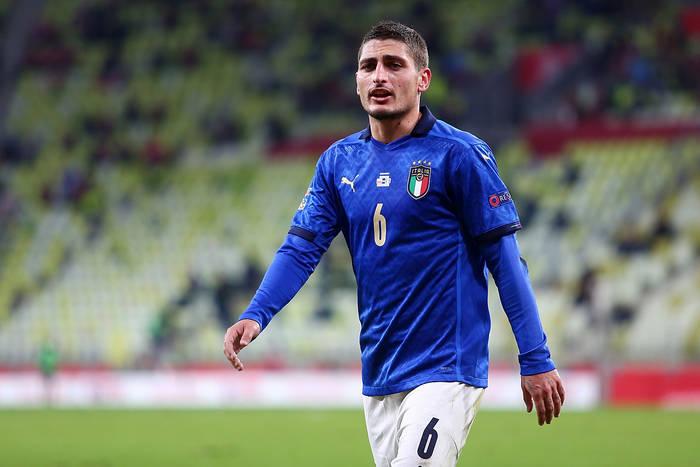Składy na mecz Włochy - Austria. Mancini postawił na Verrattiego!
