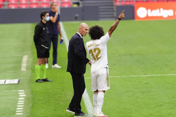 Kłótnia podczas treningu Realu Madryt. Bezlitosna decyzja Zinedine'a Zidane'a