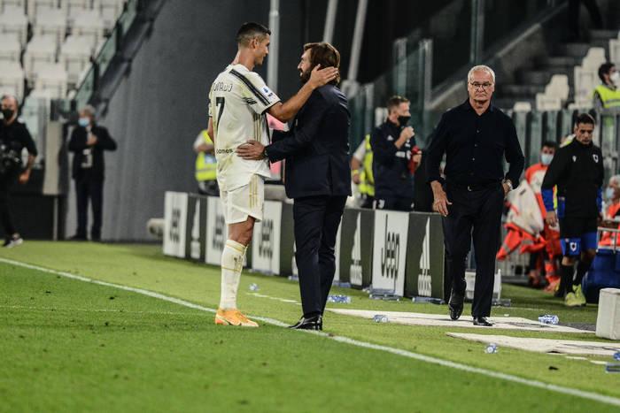 """Andrea Pirlo o reakcji Cristiano Ronaldo po hicie Serie A. """"Po raz pierwszy cieszył się, że został zmieniony"""""""