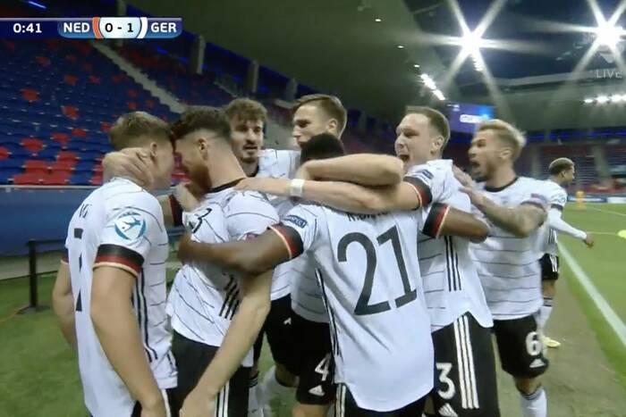 """Niemcy w finale młodzieżowego EURO! """"Florian Wirtz SuperStar"""" [WIDEO]"""
