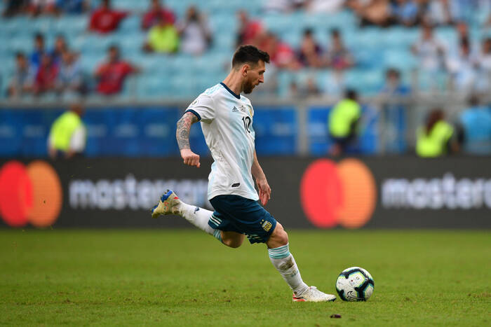 """Popis Leo Messiego nie wystarczył Argentynie. Remis """"Albicelestes"""" w eliminacjach do mundialu [WIDEO]"""
