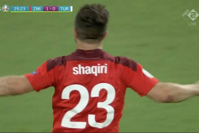 Przepiękny gol Shaqiriego na koniec rywalizacji w grupie! Szwajcaria pokonała fatalnych Turków [WIDEO]