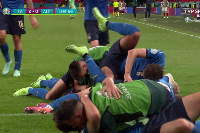 Włosi złamali Austrię dopiero w dogrywce! Faworyt najadł się strachu [WIDEO]