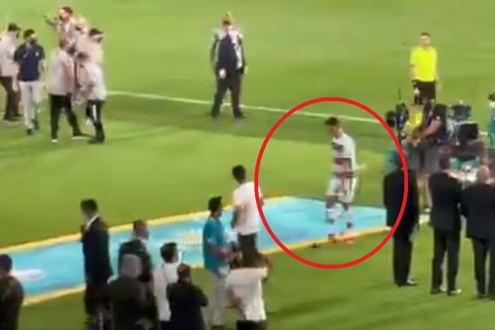 Tak Cristiano Ronaldo zareagował na odpadnięcie z Euro 2020. Gwiazdor nie ukrywał frustracji [WIDEO]