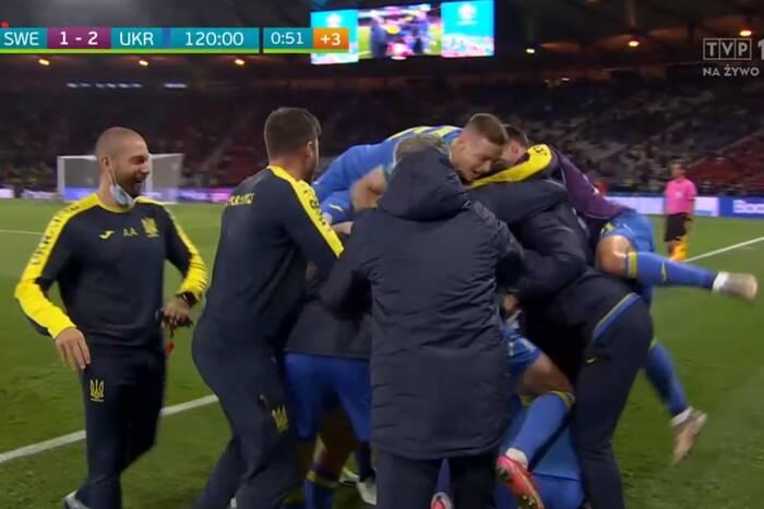 Gol w 121. minucie dał awans Ukrainie! Niezwykła końcówka ostatniego meczu 1/8 finału EURO 2020! [WIDEO]
