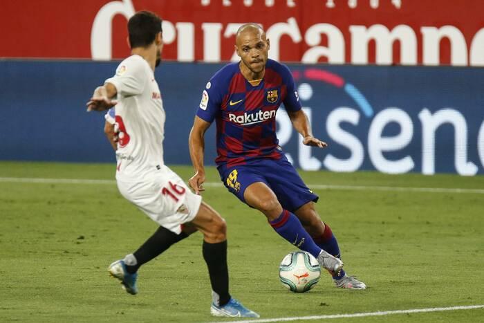 Składy na mecz Athletic Bilbao - FC Barcelona. Koeman stawia na Braithwaite'a