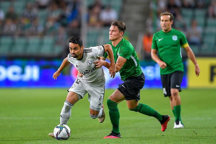 Legia wymęczyła zwycięstwo z mistrzem Estonii! Decydujący gol padł w samej końcówce [WIDEO]