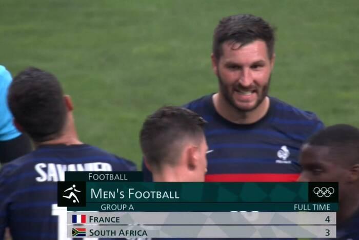 Szalony mecz Francuzów na IO w Tokio! Siedem goli, zmarnowany karny i hat-trick Gignaca! [WIDEO]