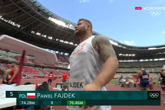 Paweł Fajdek znów miał wielkie problemy na IO! Wyratował się ostatnim rzutem [WIDEO]