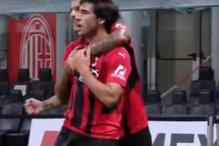 Sandro Tonali niczym Andrea Pirlo, dublet Oliviera Giroud! AC Milan nie dał szans rywalom [WIDEO]
