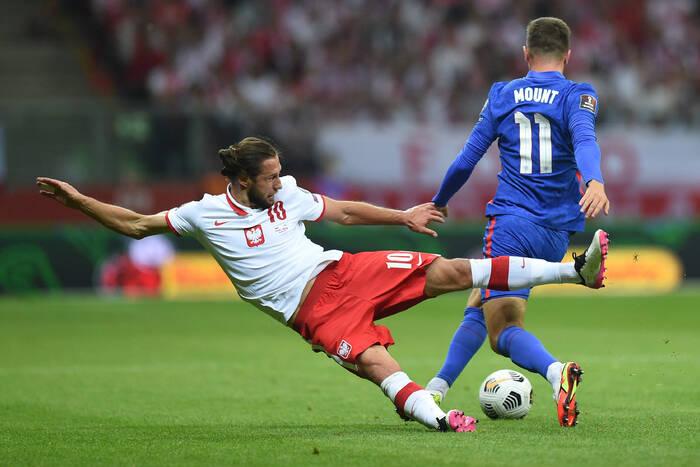 Oceny po meczu Polska - Anglia. Profesor Glik, w końcu dobry Krychowiak, bohater Szymański