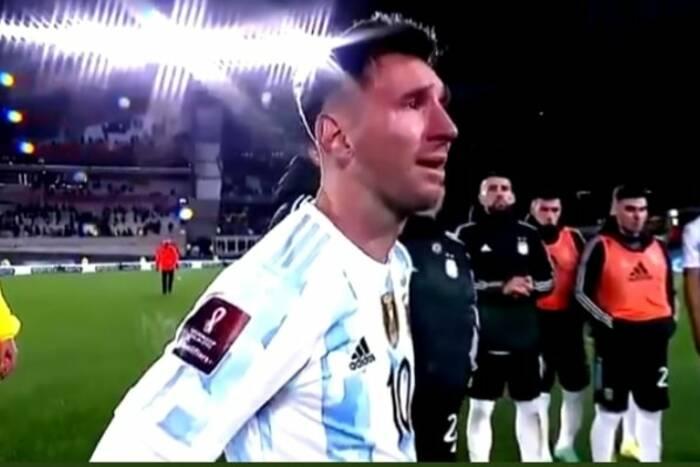 Leo Messi rozpłakał się po meczu Argentyny. Wyjątkowa chwila w karierze napastnika [WIDEO]