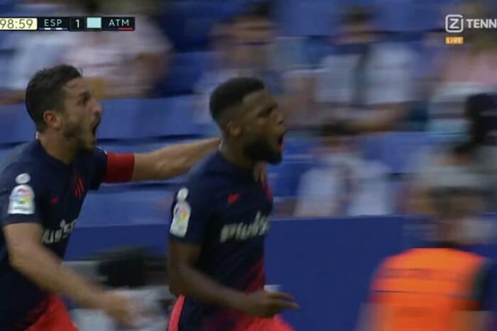 Niesamowite zwycięstwo Atletico Madryt! Mistrzowie Hiszpanii wyrwali trzy punkty w setnej minucie [WIDEO]