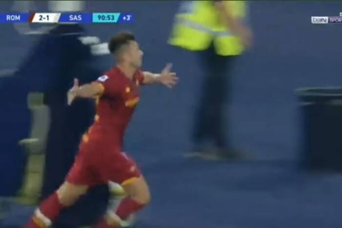 AS Roma nowym liderem Serie A! Zjawiskowy gol w doliczonym czasie gry [WIDEO]