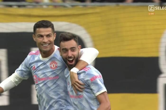 Cristiano Ronaldo znów błysnął! Portugalczyk strzelił kolejnego gola dla Manchesteru United [WIDEO]