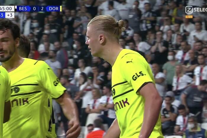 Gol Haalanda i wygrana Borussii Dortmund w Stambule. Debiutant Ligi Mistrzów sprawił wielką sensację [WIDEO]