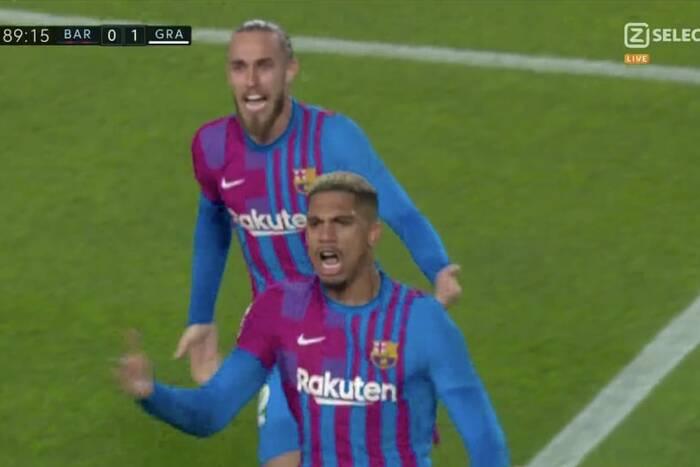 Wpadka Barcelony! Katalończycy dopiero w końcówce uratowali remis z Granadą [WIDEO]