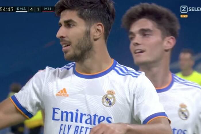Hat-trick Marco Asensio, dublet Karima Benzemy! Kolejny wielki mecz Realu Madryt [WIDEO]