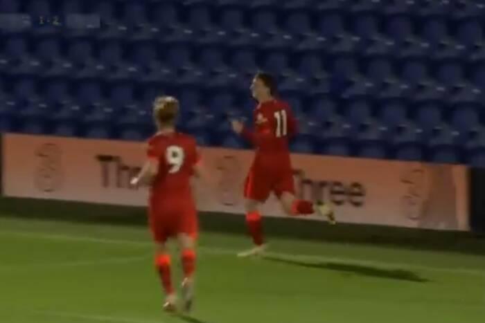 Znakomity mecz Mateusza Musiałowskiego w rezerwach Liverpoolu. Dwa gole 17-latka przeciwko Chelsea [WIDEO]
